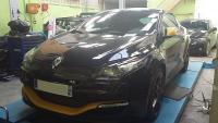Installation d'une alarme sur une Renault Megane RS sport