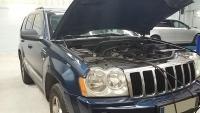 Recharge clim sur un Jeep limited CRD