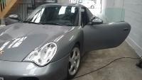 Dépose de film sur une Porsche Carrera 4S