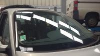 Changement du pare brise sur un Renault Scenic