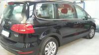 Pose de film sur un Volkswagen Sharan