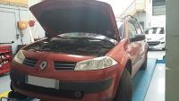 Vidange sur une Renault Megane