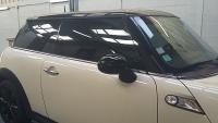 Dépose de film sur une MINI Cooper S
