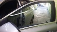 Dépose de film sur une Volvo