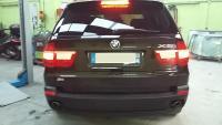 Reparation d'un anti-brouillard sur un BMW X5