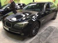 Installation kit mains libre parrot sur une BMW Serie 7