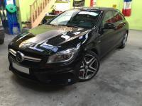 Installation Wikango sur Mercedes CLA45 AMG