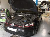 Recharge clim sur une Golf 7 GTI