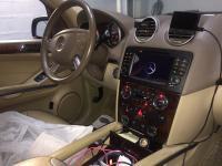 INSTALLATION AUTORADIO 2DIN MERCEDES GL 420