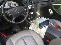 Installation autoradio Clarion 2din Mercedes clk