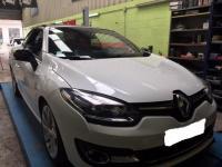 Installation d'une alarme sur une Renault Mégane à Rouen
