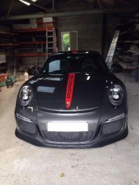 Vitres teintés à ROUEN sur Porsche AATPB ROUEN